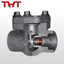 válvula de retención de aceite fundido de acero forjado de alta temperatura
