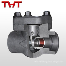high temperature forged steel welded fuel oil check valve