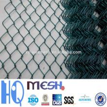 Vedação galvanizada da ligação chain (engranzamento de fio do diamante), PVC Revestida Cerca da ligação chain