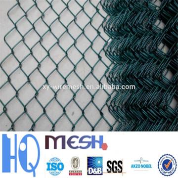 Verzinkter Kettenverbindungszaun (Diamond Wire Mesh), PVC beschichteter Kettengliedzaun