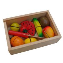 Деревянная игрушка для резки фруктов