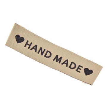 Одежда для рукоделия с надписью моющаяся этикетка с вышивкой