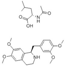 R-Tetrahydropapaverine N-acetyl-L-leucinate CAS 141109-12-8