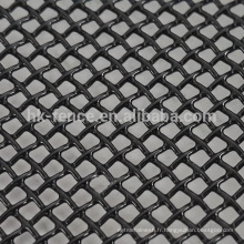 Black powder coated one way vision 316 stainless steel wire mesh window/door screen for AU(Factory price)