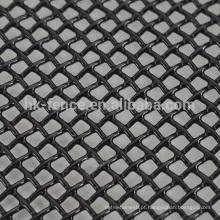 Pó preto revestido de uma maneira visão 316 malha de arame de aço inoxidável janela / tela da porta para AU (preço de fábrica)