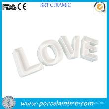 Decoração para casa Cartas de amor presente de novidade Cerâmica Placa