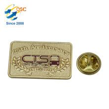 Emblema feito sob encomenda do costume da venda por atacado dura barata feita sob encomenda do Pin