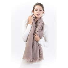 Brcwc-100% sobre la suavidad de la bufanda de cachemira