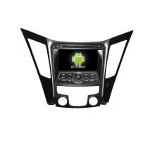 7-дюймовый андроид автомобильный DVD с GPS навигацией для Хюндай Соната 2013 с сенсорным экраном, Bluetooth зеркальная связь,меню iPhone и iPod,