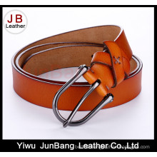 Fashionable Leather Belt Sewing Buckle by Hand for Women