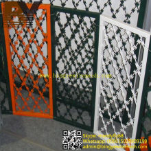 High Quality PVC Coated Concertina Wire