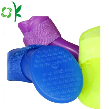 Skidproof Pet Protective Silicone Waterproof Dog Rain Shoes