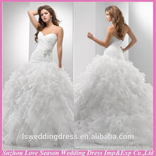 WD1208 alibaba recommand bridal wedding dress wedding gown for wholesales puffy ball gown wedding dress
