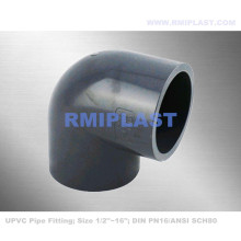 UPVC 90 Degree Elbow DIN PN16