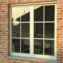 Nouvelle fenêtre coulissante en aluminium avec grille (ZXJH010)