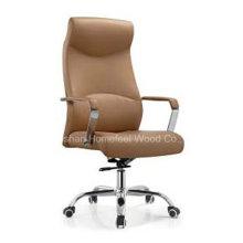 Cadeira de chefe de couro artificial moderna giratória executiva (HF-A392)