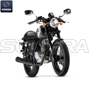 MASH CAFE RACER 125 cc nero Euro 4 Body Kit Ricambi originali