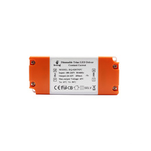 Fast delivery Constant current 450mA dimmable triac led driver 18w with TUV-CE