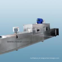Máquina de Secar Alimentos por Microondas Shanghai Nasan