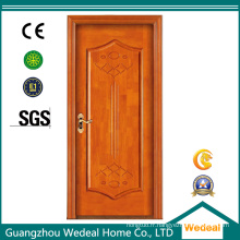 Personnaliser la porte en bois solide de teck pour l'hôtel / pièce / villa