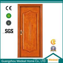 Personalize a porta da madeira maciça da teca para o hotel / sala / casa de campo