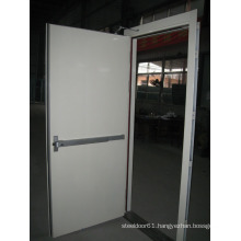 Fire door supplier made in china security fire door