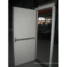 Fornecedor de porta corta-fogo, feito na china segurança porta de fogo