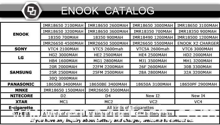 enook catalog