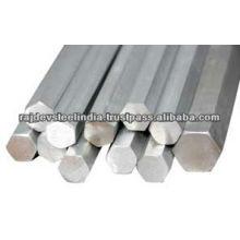 304 barra / haste de hexágono de aço inoxidável de alta qualidade