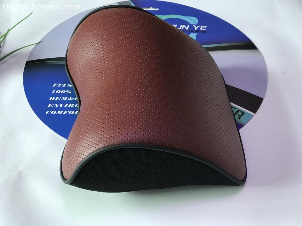 new design leather neck pillow