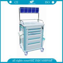 AG-AT005B1 Krankenschwester verwendet Krankenhaus beweglichen Patient Therapie Anästhesie Warenkorb