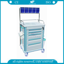 AG-AT005B1 Nurse used hospital movable patient therapy anesthesia cart