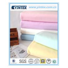 Tejido de punto 65% algodón 35% tejido de mezcla de poliéster