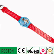 Japan Quartz Movement PVC Kids Watch