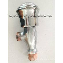La mejor calidad de latón cromado válvula de ángulo (AV3050)