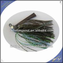 RJL005 резина пластик мадай джиг приманки вертикальных блесен рыболовную приманку юбки