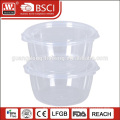 portable storage plastic oil airline food plastic containers