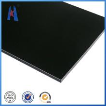 Pinsel Aluminium Compsite Kunststoff Panel, Außenwand Dekoration