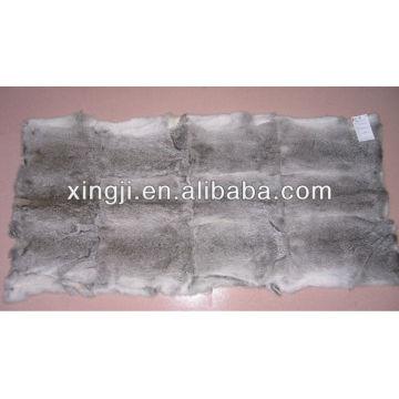 Natürlicher grauer Colro-Chinchillakaninchen-Pelzwurfgroßhandel