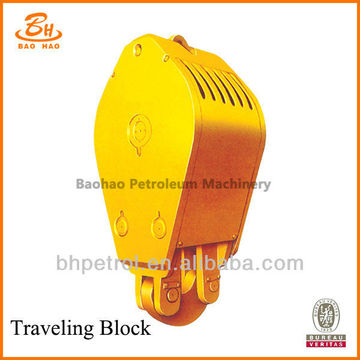 yc225 Hook And Traveling Block For Oil Drilling Rig