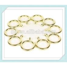 Комплект из 10 золотых занавесок для кольца 19 мм