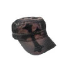 Промытая военная шляпа с логотипом (MT30)