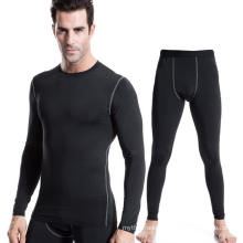 Men Fitness & Sports Training T-Shirt +Leggings Pants Activewear Suit