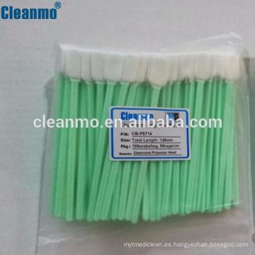 Bastoncillos de limpieza con sensor de poliéster Substitutos CM-PS714 para TX714A
