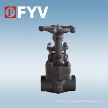 API 602 Válvula de compuerta de acero forjado A105n