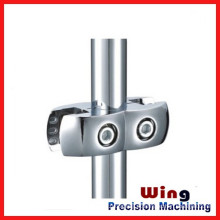 China customized die casting supplier of pipe to pipe bracket
