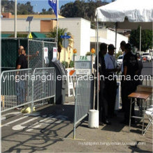 Cheap Used Galvanized Crowd Control Barrier for Sale (Factory price)