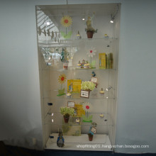 Acrylic Display Cabinet/Practical Acrylic Storage Display with Lock