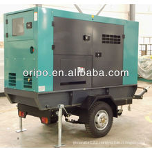 UK technical support lovol trailer generator set with single bearing alternators