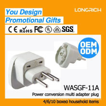 Wholesale socket for round/flat pin,made in china usb socket wall europe